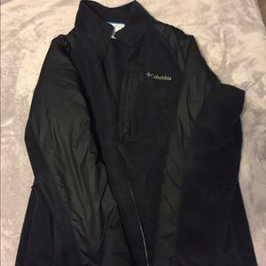 Columbia Men's XL Fleece Jacket Good Condition